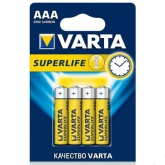 Батарейка VARTA SUPERLIFE Micro R03P 1 шт.