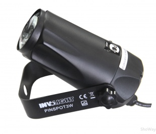 Прожектор INVOLIGHT PINSPOT3W